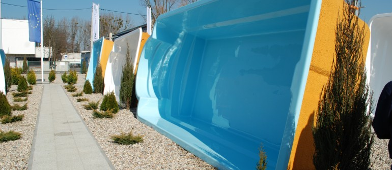 Ekspozycja basenów
